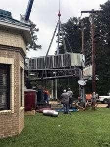 HVAC system install